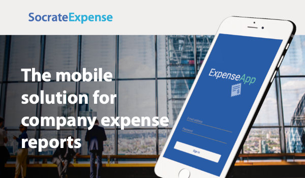 Socrate Expense - The mobile solution for company expense reports