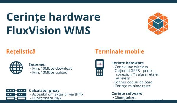 Cerințe hardware FluxVision WMS