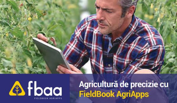 Agricultură de precizie cu FiledBook AgriApps