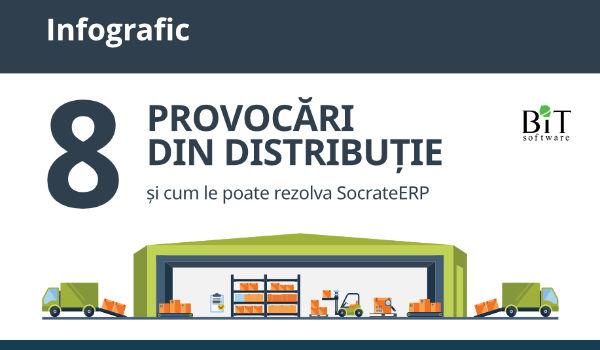 Infographic - 8 provocari distributie