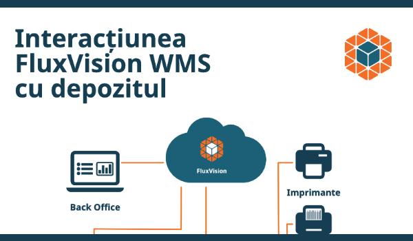 Interacțiunea FluxVision WMS cu depozitul