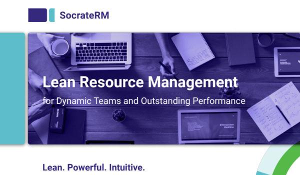 SocrateRM - Lean Resource Management