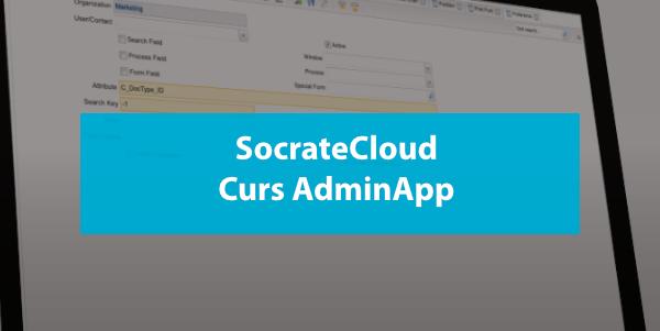 SocrateCloud Curs Admin App