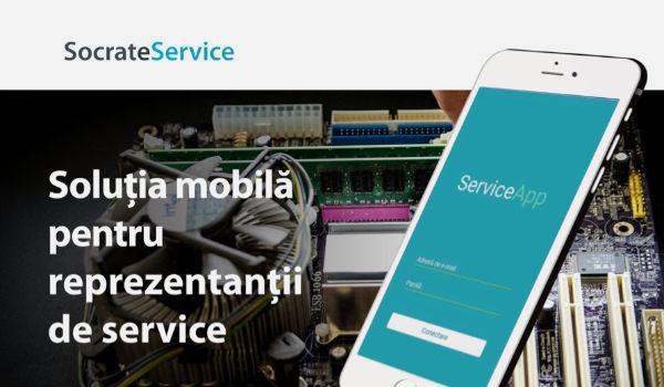 SocrateServive - The mobile solution for service representatives