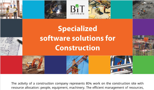 Specialized Software Solutions for Construction