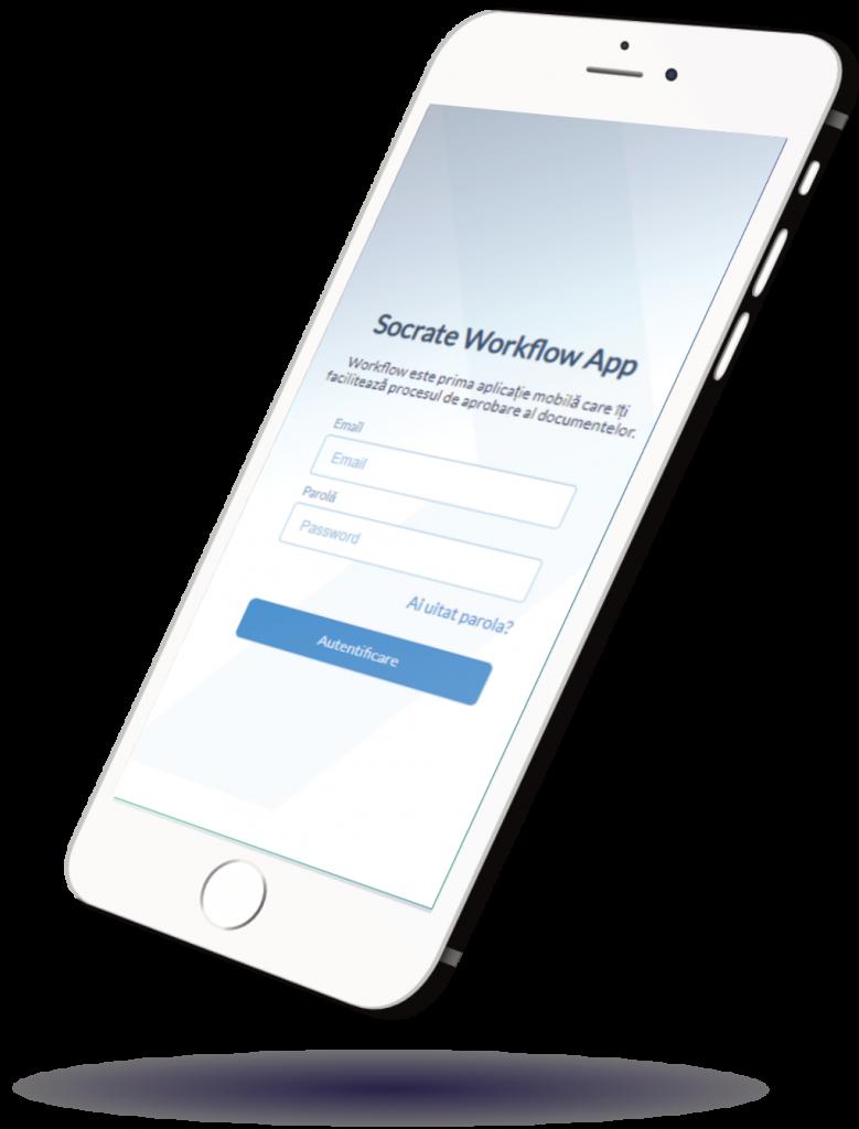 SocrateWorkflow Aplicație Mobilă